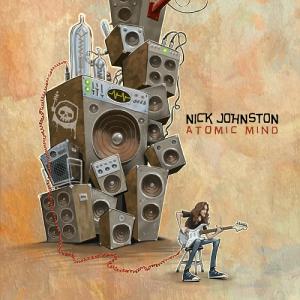 Nick Johnston - Atomic Mind Album Art 500x500